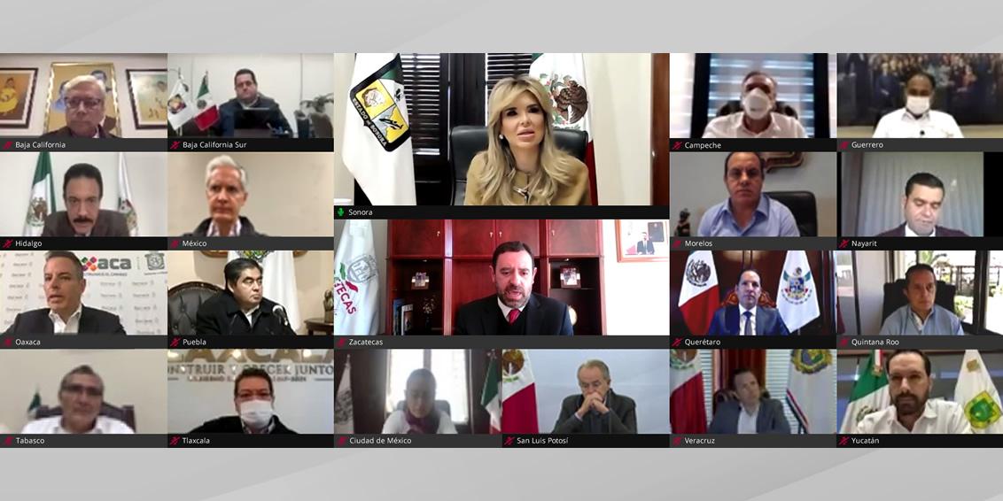 LX Reunión Ordinaria de la CONAGO. Sonora (sesión virtual). 27 de enero de 2021.