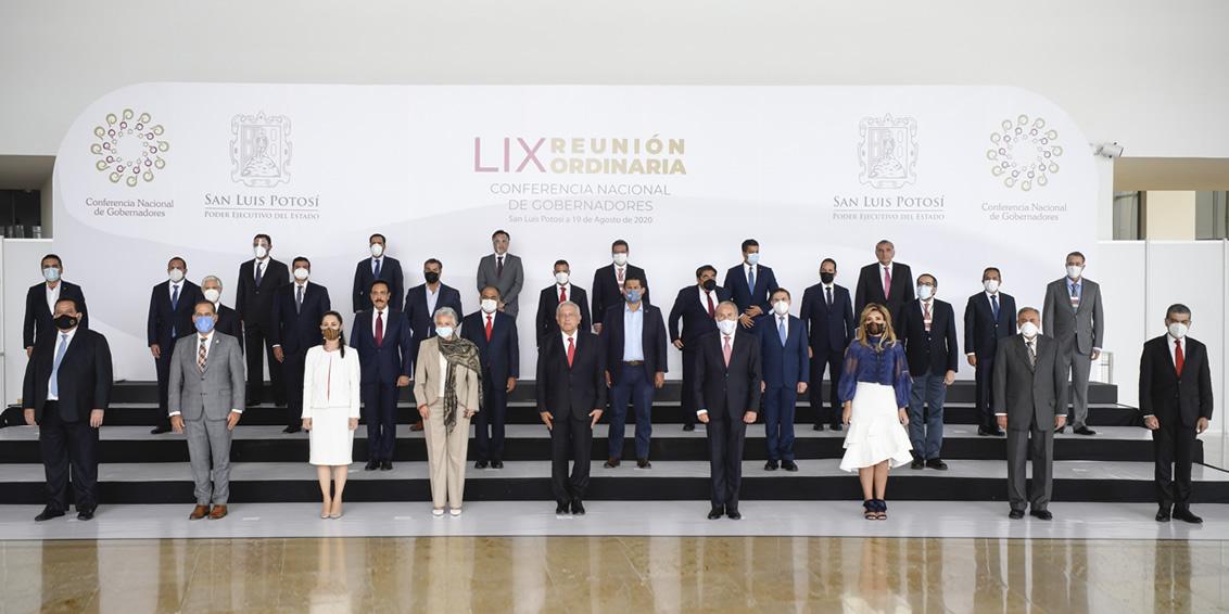 LIX Reunión Ordinaria de la CONAGO. San Luis Potosí. 19 de agosto de 2020.