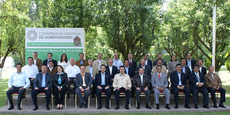V Reunión Extraordinaria de la Conferencia Nacional de Gobernadores