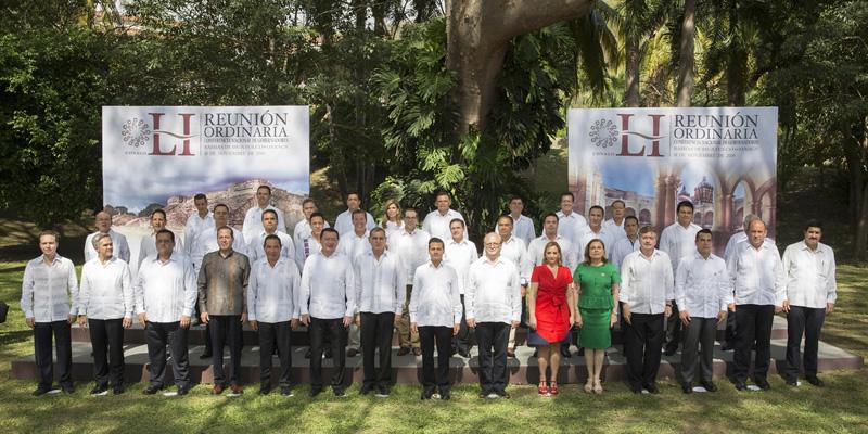 LI Reunión Ordinaria de la Conferencia Nacional de Gobernadores
