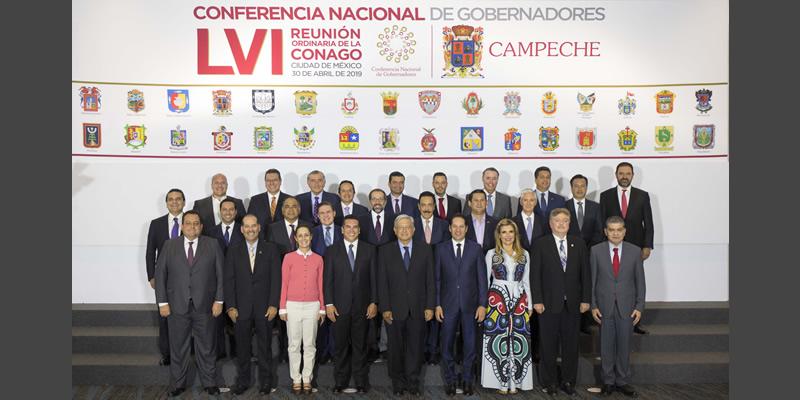 LVI Reunión Ordinaria de la Conferencia Nacional de Gobernadores